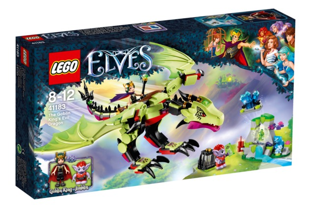 LEGO Elves: The Goblin King's Evil Dragon (41183) | Toy | at Mighty ...