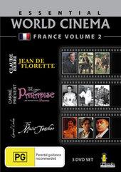 Essential World Cinema - France: Vol. 2 (3 Disc Set) on DVD
