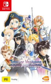 Tales of Vesperia Definitive Edition for Nintendo Switch