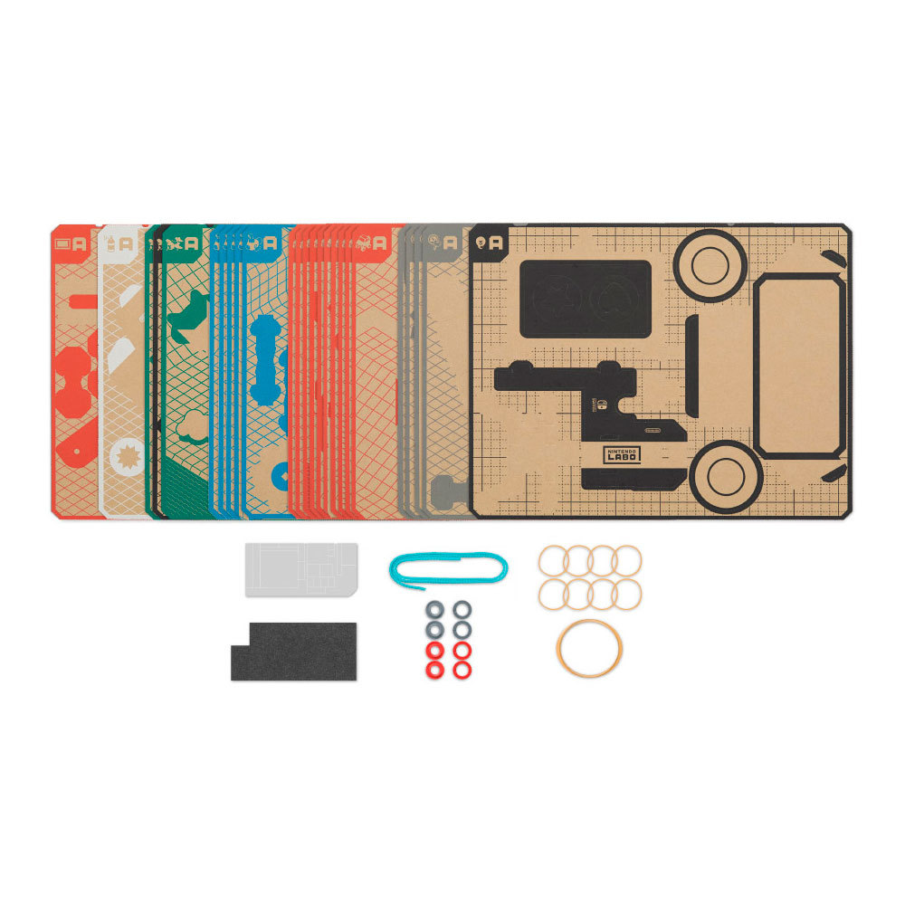 Nintendo Labo Toy-Con 03 Vehicle Kit for Switch image