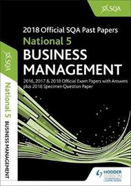 National 5 Business Management 2018-19 SQA Specimen and Past Papers with Answers by SQA