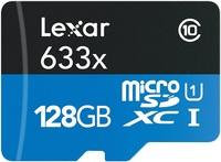 128GB Lexar High-Performance 633x microSDHC/microSDXC UHS-I