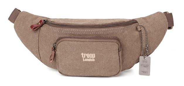 Troop London: Classic Waist Pouch - Brown