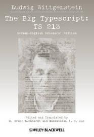 The Big Typescript by Ludwig Wittgenstein