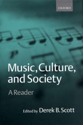 Music, Culture, and Society
