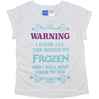 Disney Frozen Sing-along T-Shirt (Size 8)