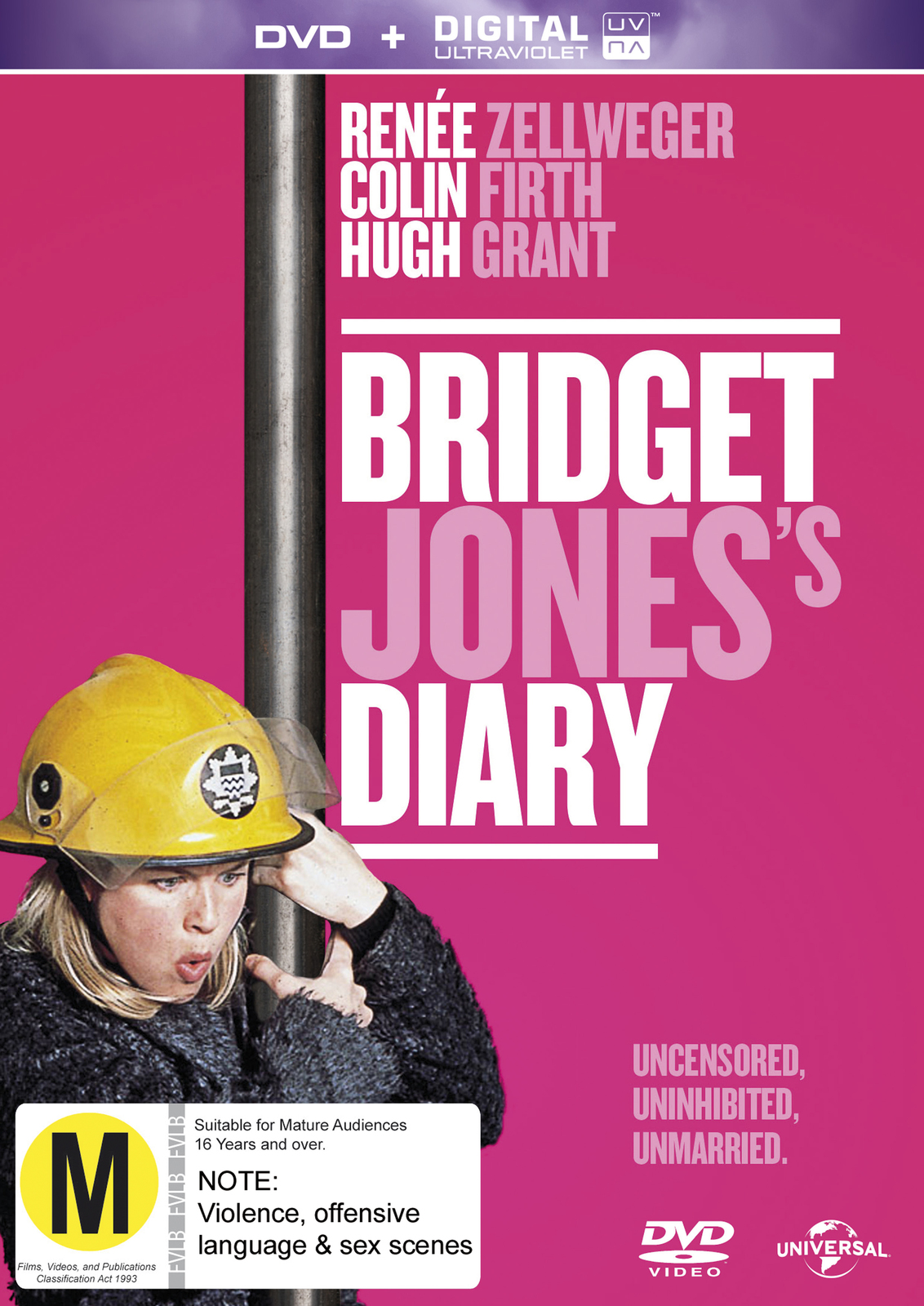 Bridget Jones's Diary on DVD image