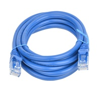 8ware: Cat 6a UTP Ethernet Cable Snagless - 2m (Blue)