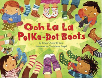 Ooh La La Polka-dot Boots by Ellen Olson-Brown image