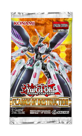 Yu-Gi-Oh! Flames of Destruction Single Booster