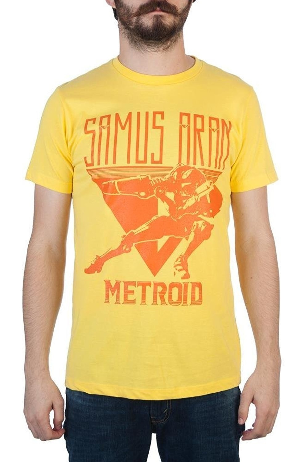 Metroid: Samus Aran - Mens T-Shirt (Medium) image