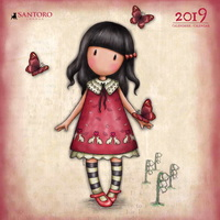 Aquarupella: Santoro 2019 Wall Calendar