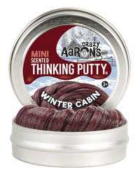 Crazy Aaron Thinking Putty: Mini Tin - Winter Cabin