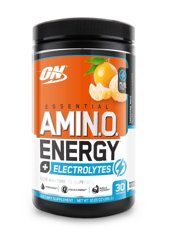 Optimum Nutrition: Amino Energy + Electrolytes - Tangerine Wave (30 Serves)