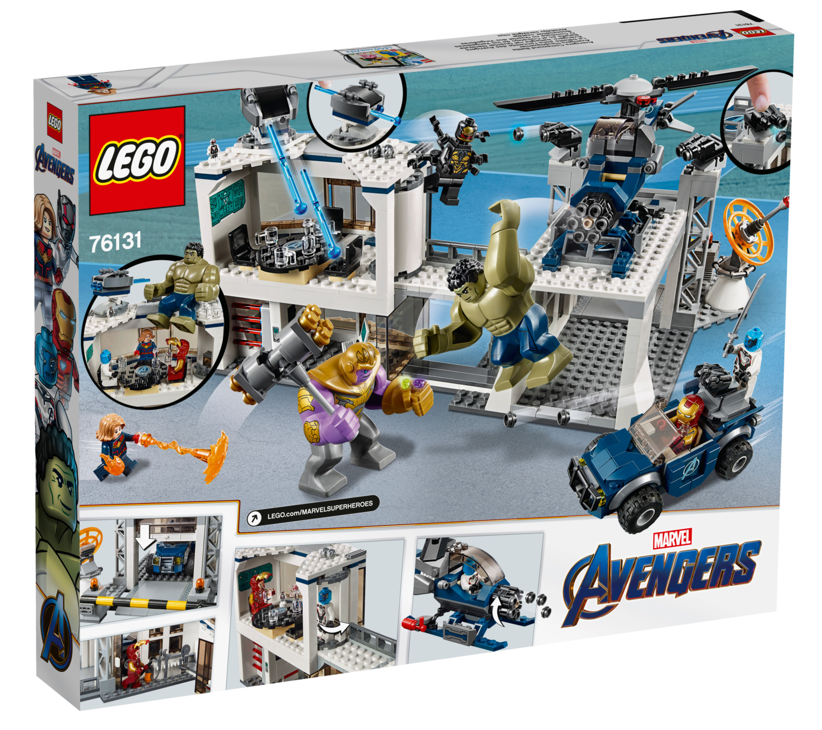 LEGO Super Heroes: Avengers - Compound Battle | Toy | at ...