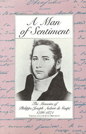 A Man of Sentiment by Phillipe-Joseph Aubert de Gaspe image