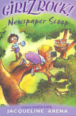 Newspaper Scoop by Jacqueline Arena