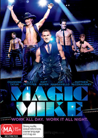 Magic Mike on DVD