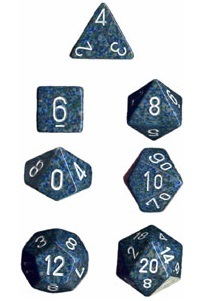 Chessex - Polyhedral Dice Set - Sea Speckled image