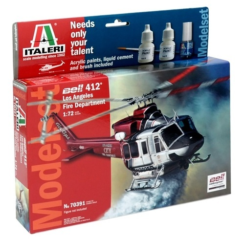 Italeri: 1/72 Bell 412 - Complete Set