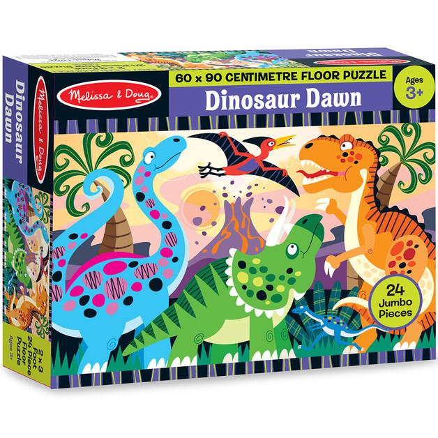 Melissa & Doug: Dinosaur Dawn Floor Puzzle
