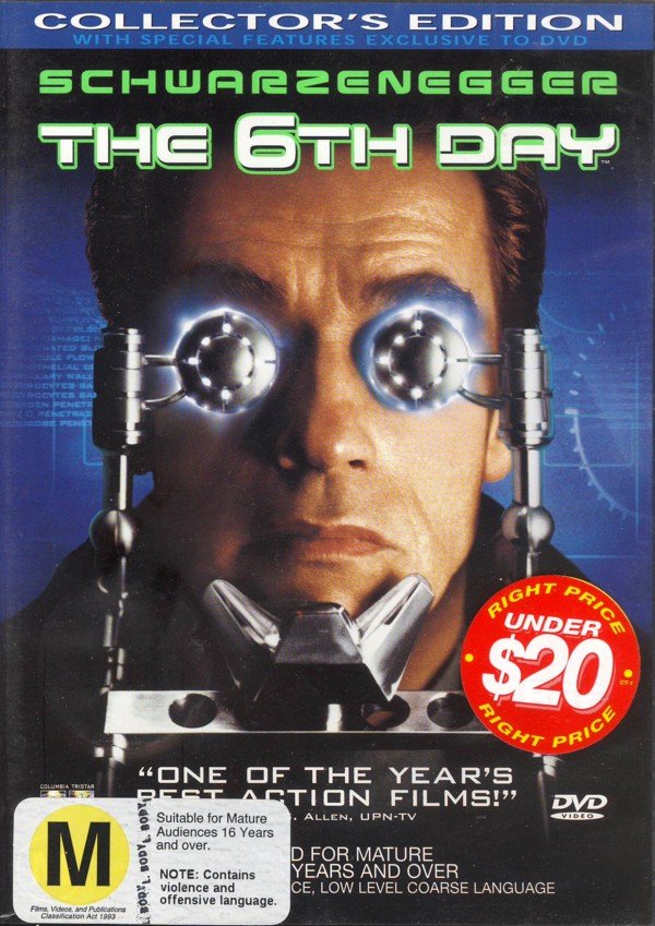 The 6th Day on DVD image