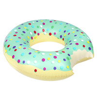 Pumpt: Mint Donut - Inflatable Pool Float