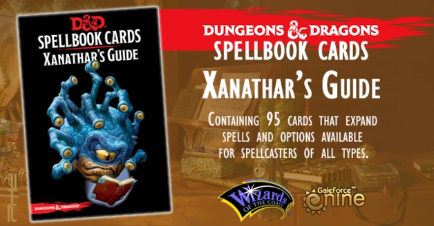 D&D: Spellbook Cards: Xanathars Deck (95 Cards)
