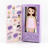 Floss & Rock: Magnetic Dress Up Doll - Sofia