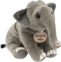 Antics Wildlife: Elephant Sitting - Animal Plush