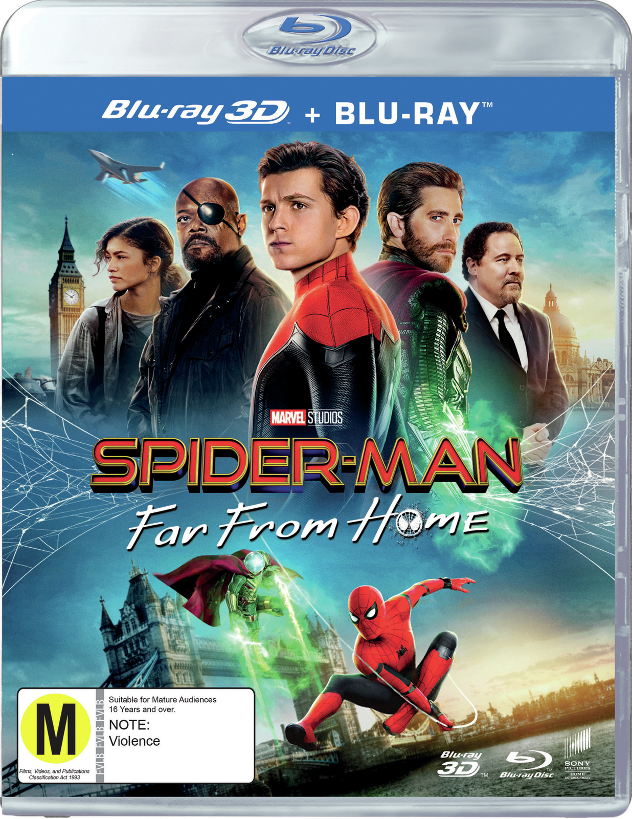 Spider-Man: Far From Home (3D Blu-ray) on 3D Blu-ray image