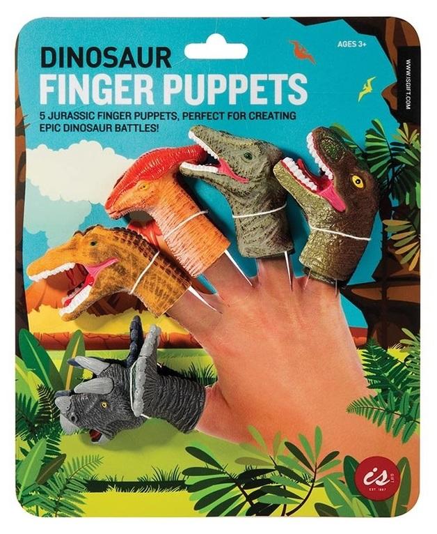 IS Gifts: Dinosaur Finger - Puppet Set (5-Pack)