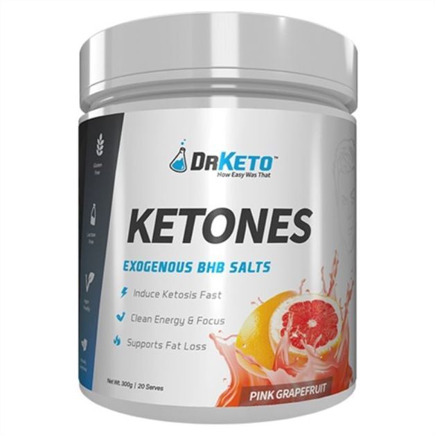 Dr Keto: Ketones - Pink Grapefruit (20 Serve)