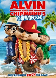 Alvin and The Chipmunks Chipwrecked on DVD