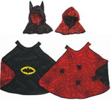 Pretenz Reversible Spider/Bat Cape with Hood