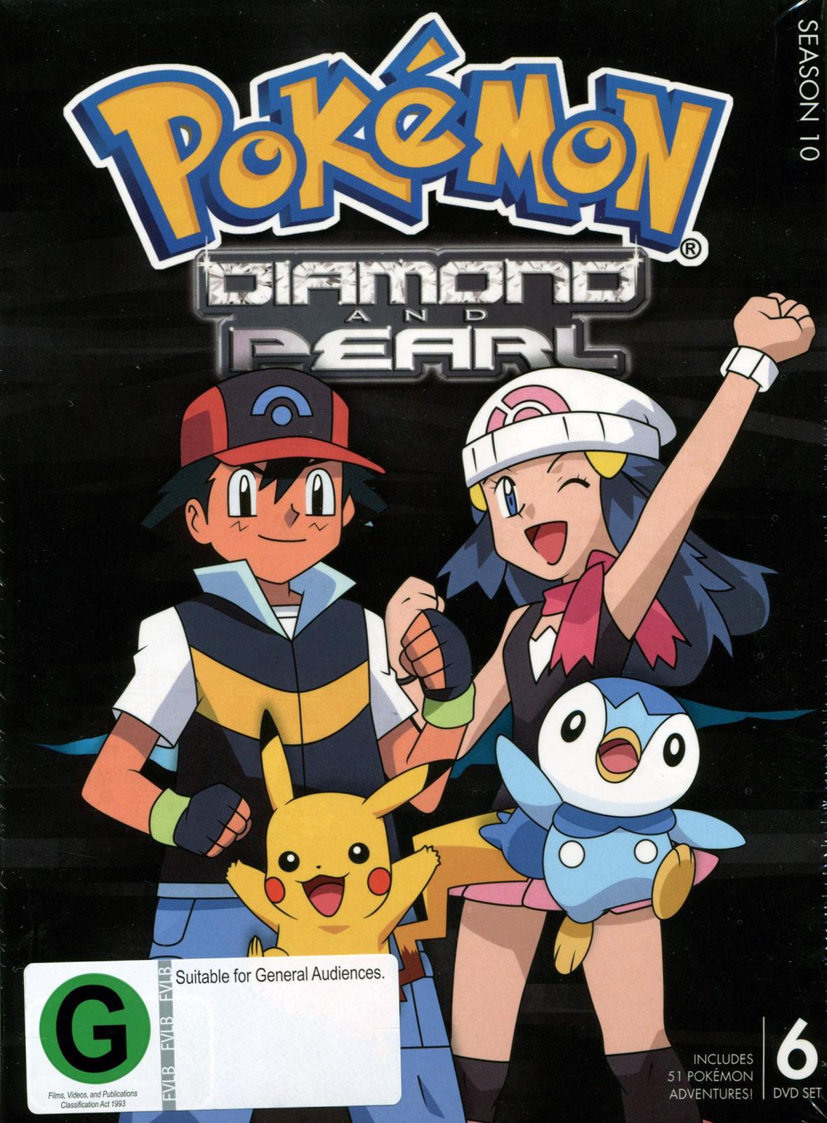Pokemon - Season 10: Diamond and Pearl on DVD image