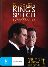 The King's Speech on DVD