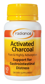 Radiance Activated Charcoal (60 Tablets)