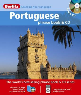 Portuguese Berlitz Phrase Book and CD