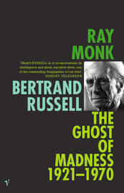 Bertrand Russell Vol II by Ray Monk image