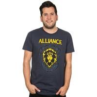 World of Warcraft Alliance Crest Version 3 Premium Tee (3X-Large)