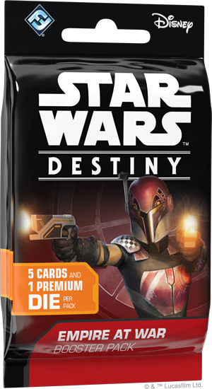 Star Wars Destiny: Empire at War Single Booster image