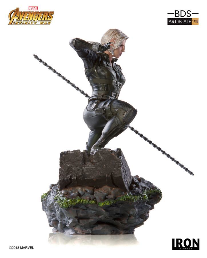 Marvel: 1/10 Black Widow - Battle Diorama Statue image
