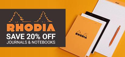 20% off Rhodia