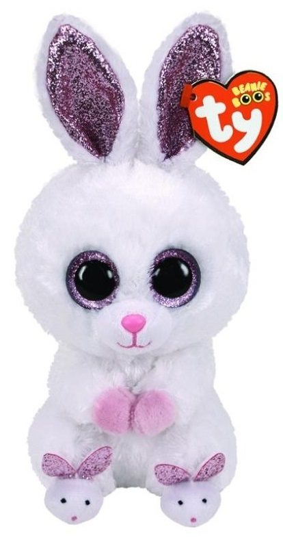 TY Beanie Boo: Slippers Rabbit - Small Plush