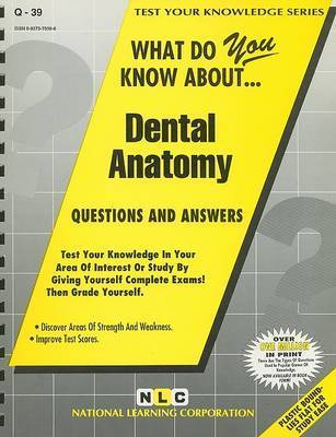 What Do You Know About... Dental Anatomy