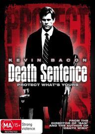 Death Sentence on DVD image