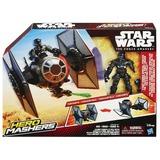 Star Wars: Hero Mashers - TIE Fighter & Pilot Action Figure Set