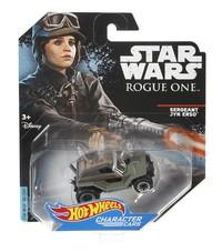 Hot Wheels: Star Wars Character Car - Sergent Jyn Erso