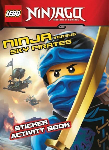 LEGO Ninjago: Ninja Versus Sky Pirates Sticker Activity Book